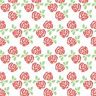 Rose Print by pizzazzdesign