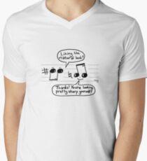 Musical Compliments V-Neck T-Shirt