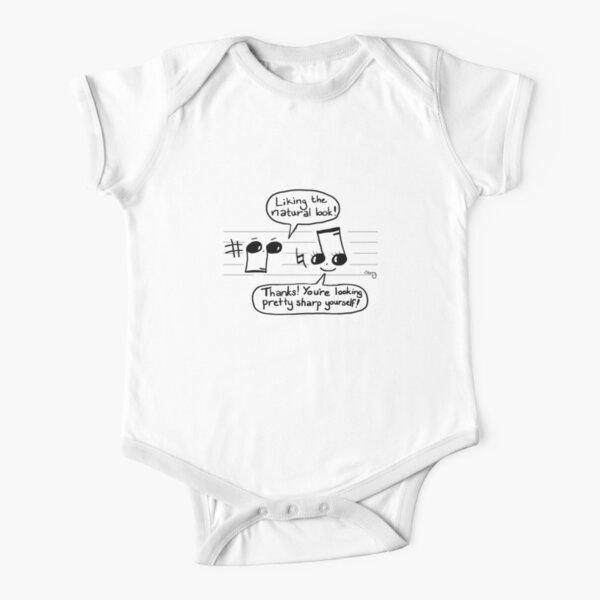 Musical Compliments Short Sleeve Baby One-Piece