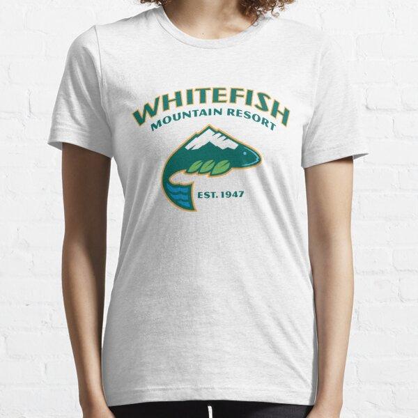 Whitefish Ski Resort Essential T-Shirt