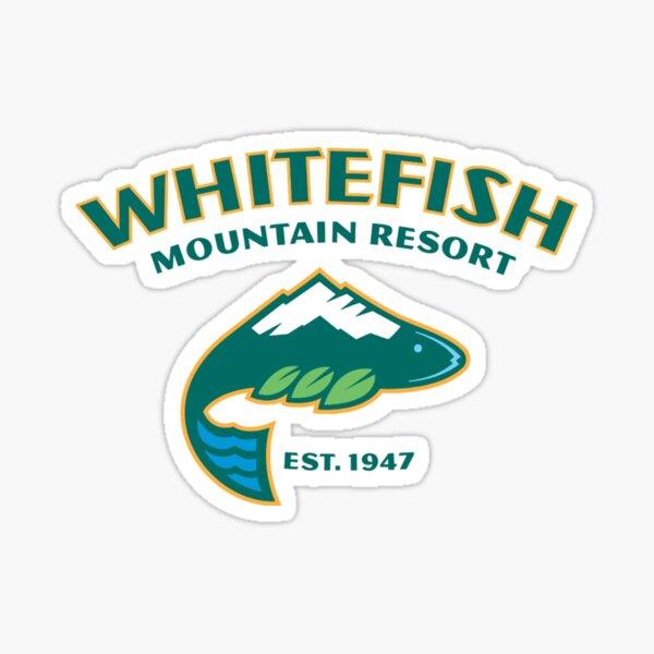 Whitefish Ski Resort Sticker