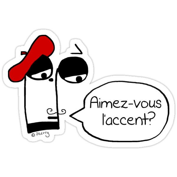 Aimez-vous l'accent? - Funny French Music Cartoon by Hannah Sterry