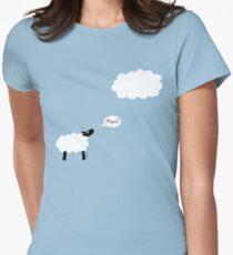 Sheep Cloud Women's Fitted T-Shirt