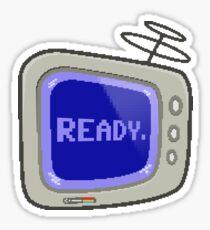 Commodore 64 Monitor Screen TV Sticker