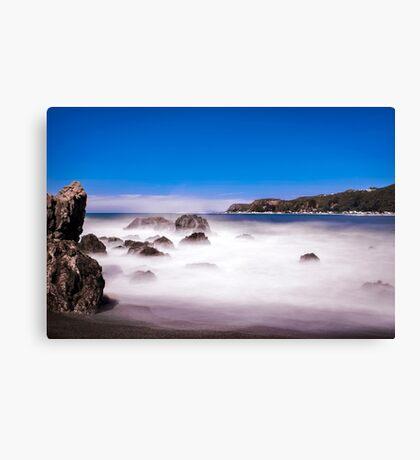 Breaker Bay, Wellington, NZ Canvas Print