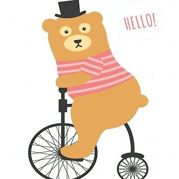 Funny Bear by AnnaTram