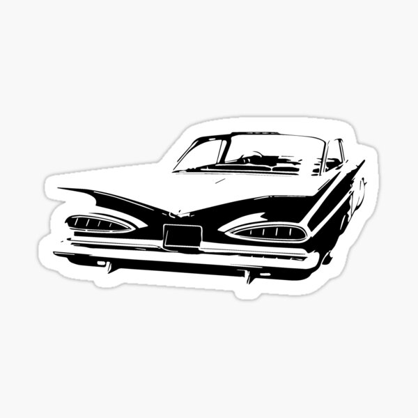 Funny Taco Stand Decal Chevy Hot Rod Rat Ford Sticker Low rider Bomber Impala