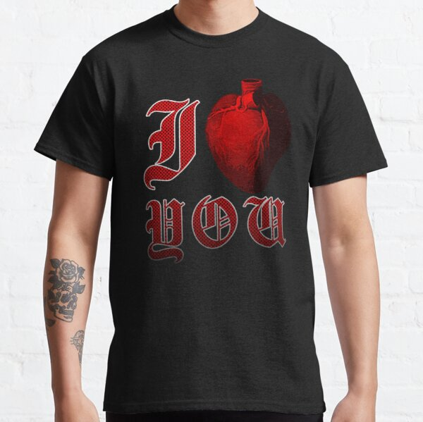 I Love You - Grunge Human Heart  Classic T-Shirt