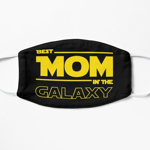 Best Mom In The Galaxy Flat Mask