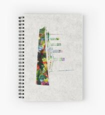 RMS Titanic Spiral Notebook
