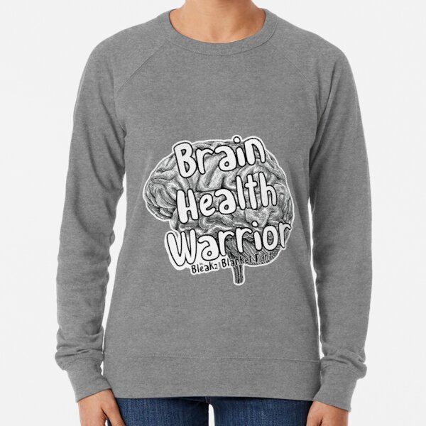 Brain Health Warrior  Lightweight Sweatshirt