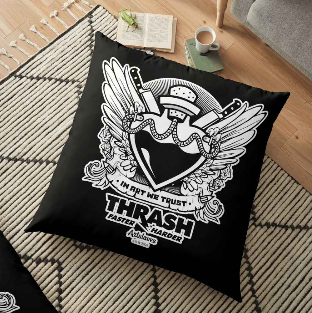 Thrash Floor Pillow
