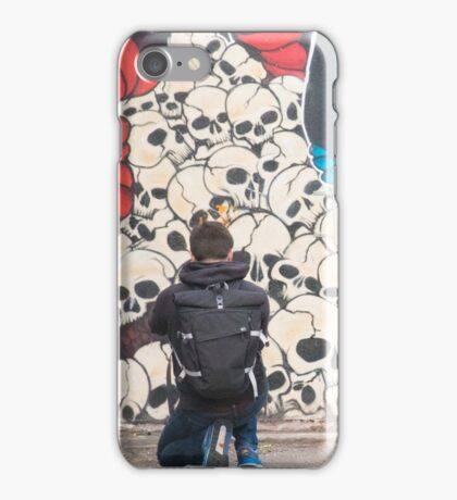 Photographer at work iPhone Case/Skin
