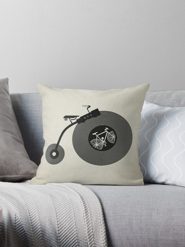 Penny Record Black by modernistdesign