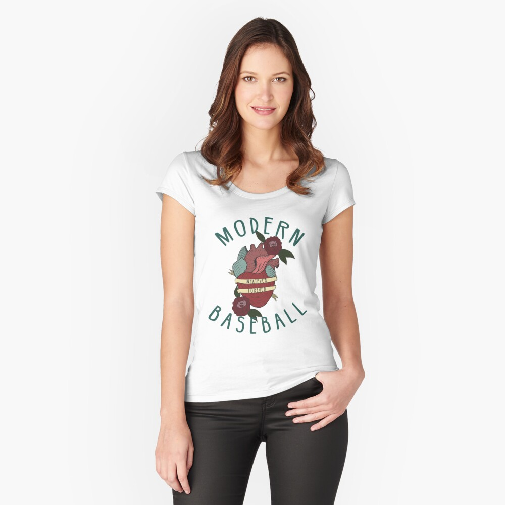 Whatever Forever Women's Fitted Scoop T-Shirt Front