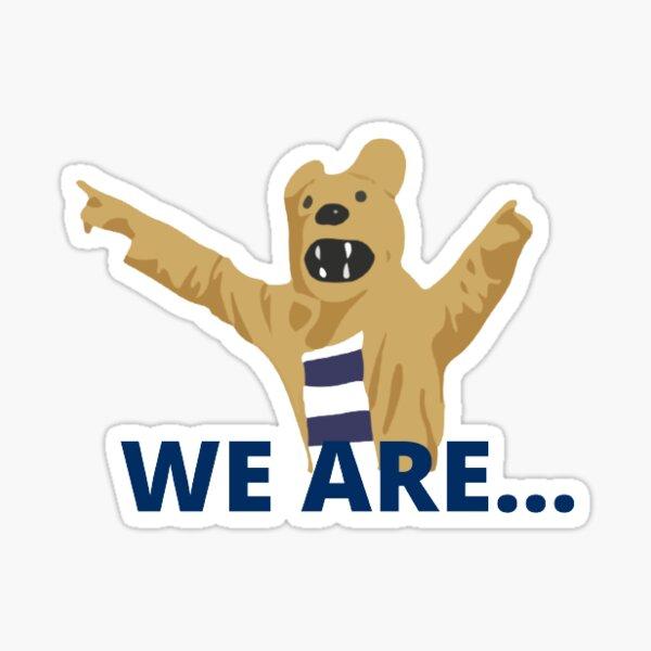 We are...  Sticker