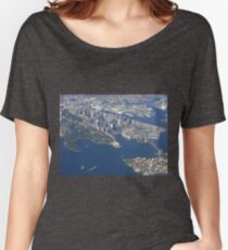 I picked a great day to fly into Sydney! Women's Relaxed Fit T-Shirt