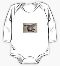 Humphrey's Pilot Shop Woodburned logo Brampton Flight Centre  One Piece - Long Sleeve