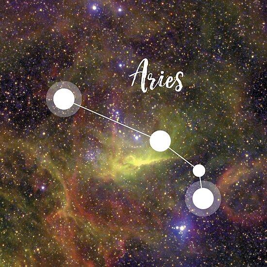 Widder Sternzeichen 21 März 19 April Poster Von Irinatsy