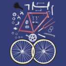 Bicycle parts by C.J. Jackson