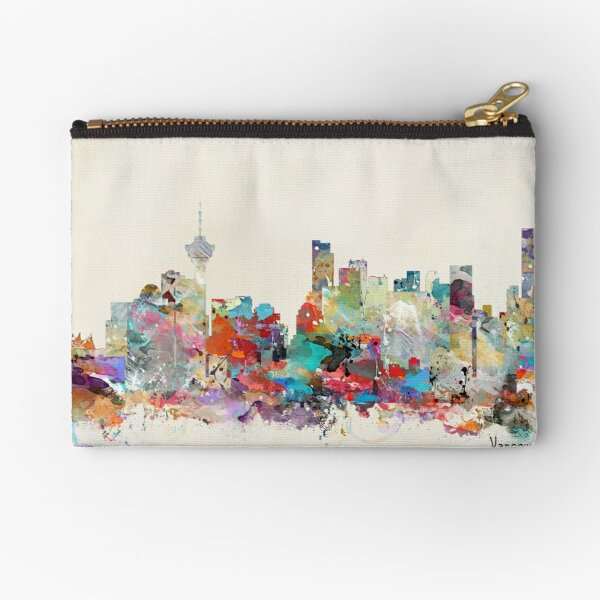 Vancouver city skyline Zipper Pouch