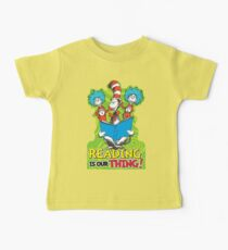 Dr Seuss Reading Quote Kids Clothes