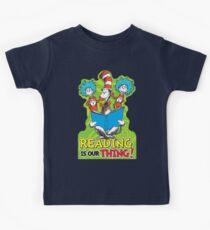 Dr Seuss Reading Quote Kids Clothes