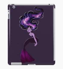 Purple Galaxy Mermaid iPad Case/Skin