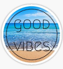 Good Vibes Beach Sticker