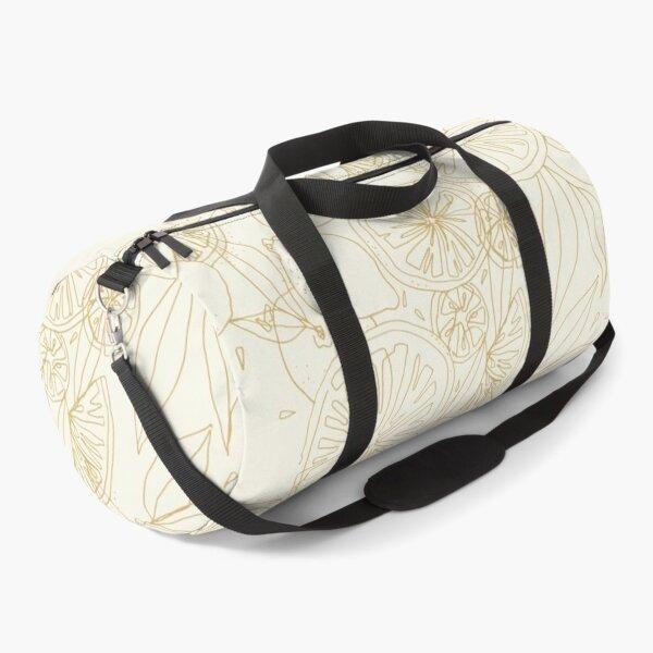 Citrus Continuous Line Duffle Bag