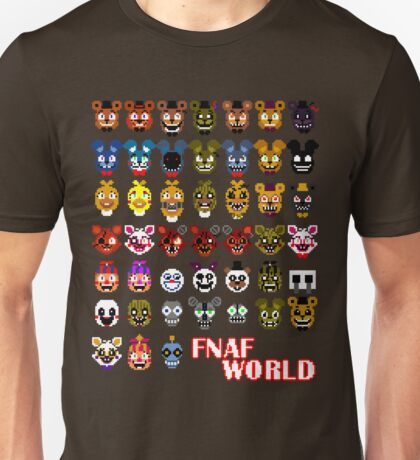 FNAF World Unisex T-Shirt