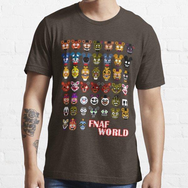 FNAF World Camiseta esencial