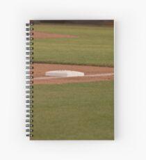 Third Base on a Well Groomed Infield,... It's Baseball Season!!! Spiral Notebook