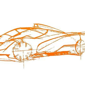 CORE Hyper car (NWDESIGN Original)  by nwdesign