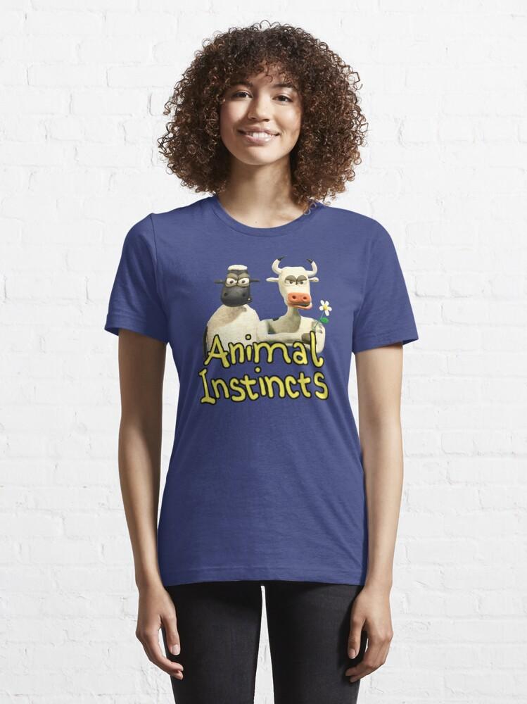 Alternate view of Animal Instincts Essential T-Shirt