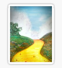 Follow the Yellow Brick Road! Sticker