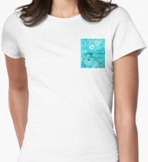 The Joy of the Lord is my Strength by Jan Marvin Women's Fitted T-Shirt