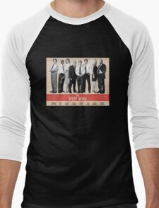The West Wing Retro Poster Men's Baseball ¾ T-Shirt