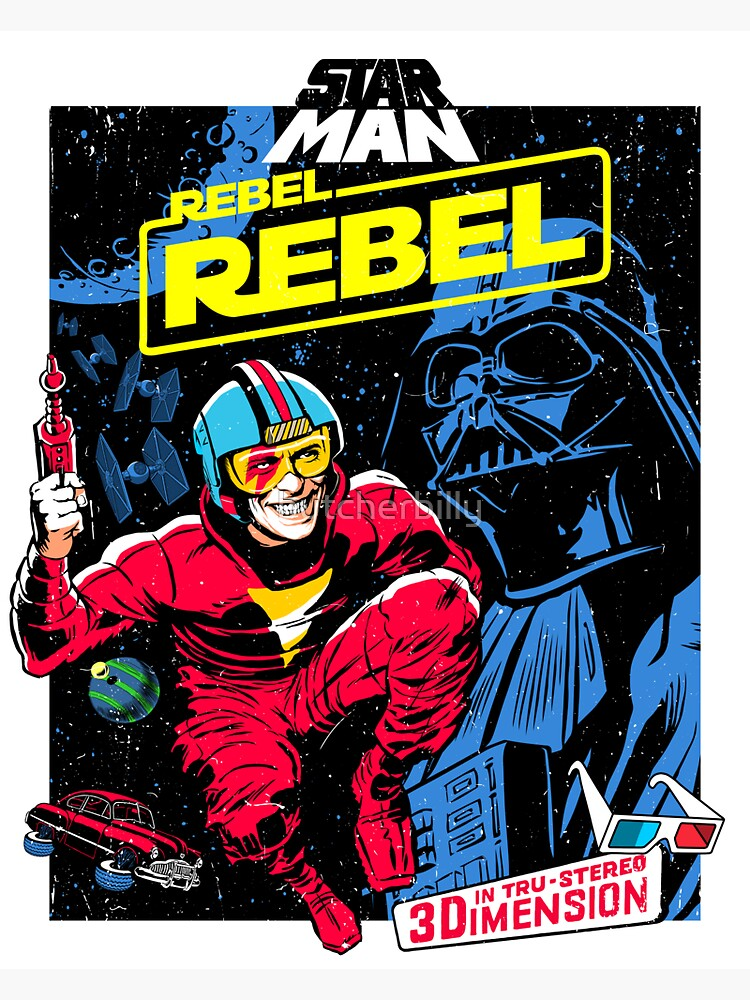 Space Rebel by butcherbilly