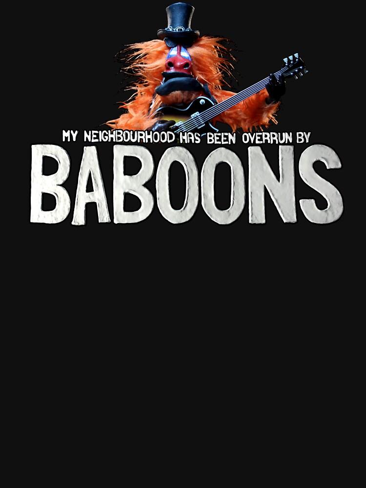Baboon by GoorooAnimation