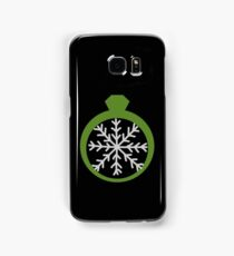 Snowing Ring and Snowflake Samsung Galaxy Case/Skin