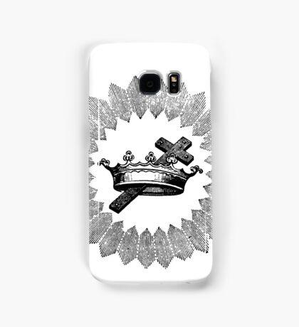 Cross and Crown Samsung Galaxy Case/Skin