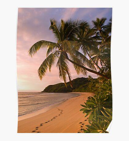 Lukiluki Bay, Fiji Poster