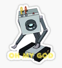 Rick and Morty // Butter Robot Sticker