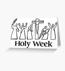 Holy Week Greeting Card