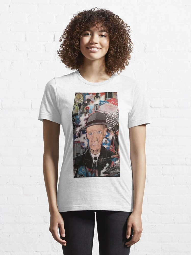 Alternate view of William S. Burroughs. Naked Lunch Essential T-Shirt