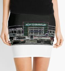 Chevy Muscle Cars Mini Skirt