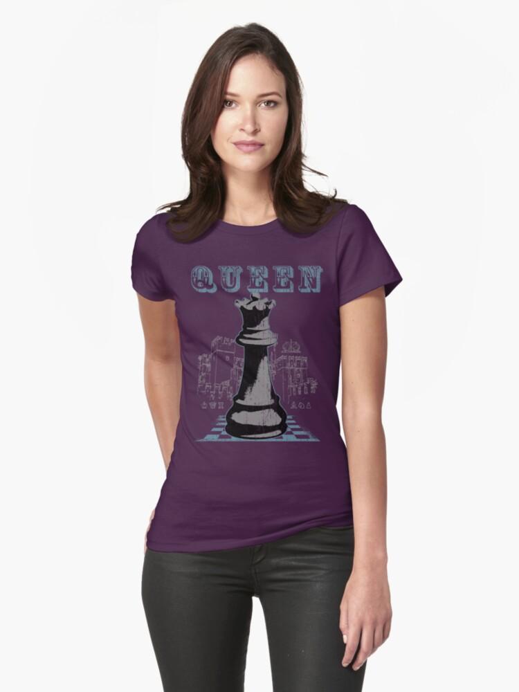 Chess Mate: Black Queen by adamcampen