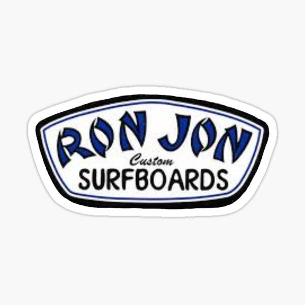Ron Jon Custom Surfboards Logo Sticker