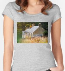 Houses - Scotland Women's Fitted Scoop T-Shirt